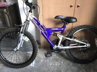 """Girls Apollo mountain bike 19"""" tyres"""