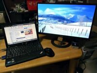 Boxed ASUS IPS Monitor 21.5'' FHD 1920x1080 Ultra-low Blue Light Frameless Flicker free