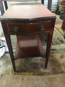 Side table end table