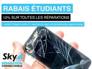 Réparation de cellulaire sur place - Phone repair on the spot