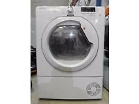 89 Hoover DNCD913B 9kg White LCD Sensor Drying Condenser Tumble Dryer 1 YEAR GUARANTEE FREE DELIVERY