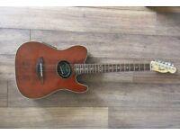 Original Squier/Fender Telecoustic electro-acoustic guitar
