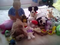 Joblot of soft toys.