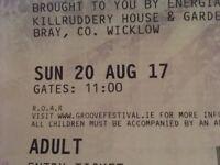 Groove festival Bray Co. Wicklow