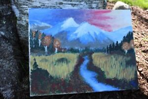 Autumn Mountain painting by Ethan Seely