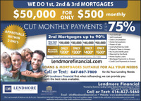 Home Equity Loans - Private Mortgages - Debt Consolidation