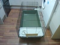 Rabbit Cage indoors