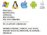 Computer and Mobile Phone Software Repair In Hull, Cottingham and Beverley