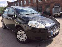 07 plate - fiat punto grande - 12 months mot - warranted low 85K on the clock