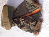 Sugar boots size 4.5