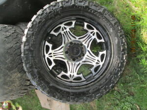 20 Inch Tires and Moto Metal Rims