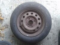 Tyre 165/70 R13 for sale with decent tread left