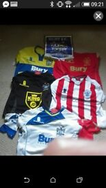 Bury football tops
