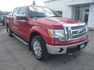 2012 Ford F-150 Lariat Bluetooth, Navigation, Chrome package