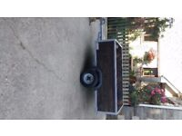 5 X 3 trailer. excellent condition. spare wheel, cover and new tailboard