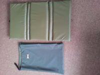 Carp Unhooking Mat & Bag - New , Reuben Heaton