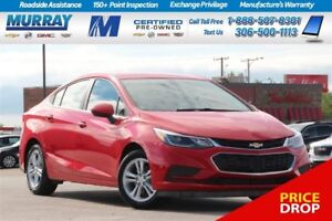 2016 Chevrolet Cruze LT*REMOTE START*HEATED SEATS*REAR CAMERA*