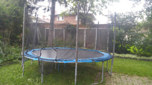 "Today! Moving sale-16"" Trampoline"