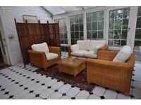M & S Rattan Conservatory Furniture