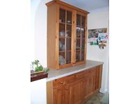 Quality Pine Wood Kitchen Units - Serious Offers Considered