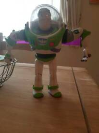 Talking toy story buzz lightyear with batteries