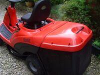 castle garden F72 ride on mower 10.5 HP briggs-STRATTON 72cm CUT