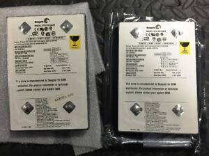 2 Seagate Hard Drives Western Digital Adata OWC Toshiba Samsung