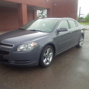 2009 Chev Malibu LT, One Owner, Leather, Clean Carproof, Low KMS