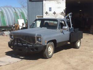 1979 gmc  tow truck