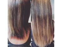 Full Head of Tape Extensions £175 Mobile service