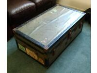Watajoy Vintage Travel Trunk