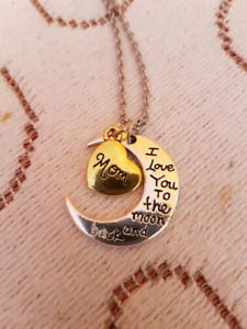 Love you to the moon and back necklaces new