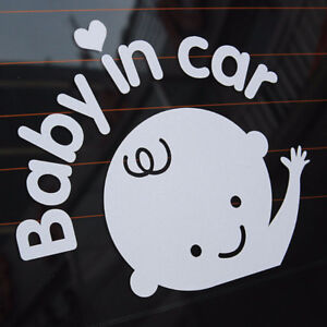 Baby Car Window Auto Decal - Safer Driving