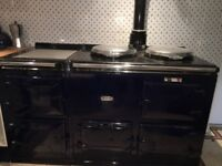 Aga Cooker - 4 ovens, navy, gas-fuelled