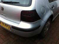 VW Golf Tinted Rear Lights