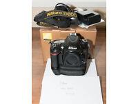 Nikon D600 Full Frame DSLR Camera Body - Grip.