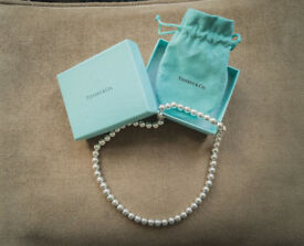 Tiffany & Co Silver Cuff and Necklace