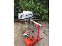 Honda 5 hp 4 stroke outboard engine (Boat/Dinghy/RIB engine)