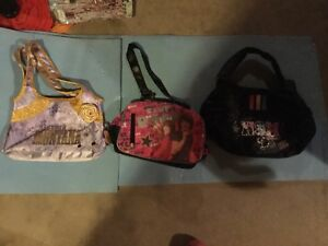 3 girls purses.