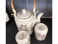 Cute teapot and cup set - Tiger