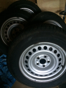 Honda Odyssey winter tires on rims. For sale or Trade