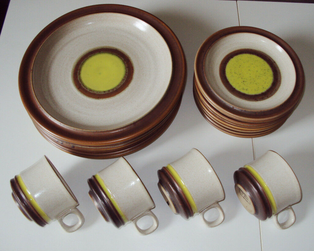 Denby vintage Potters Wheel set