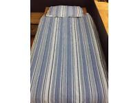 Single bed Blue Stripe Duvet Set.