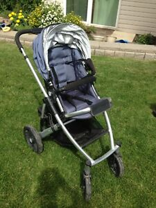 Uppababy stroller with bassinet