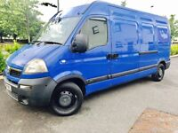 VAUXHALL MOVANO 2,5L CDTI LWB FULL SERVICE HISTORY 2 KEYS 4 BRAND NEW TYRES DRLIVES LOKE A DREMA***