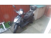 Kymco Agility City 125cc Scooter/Moped + Oxford Chain, Oxford Hotgrips, Helmet Box & Alarm system!!