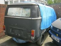 vw t2 camper, project to finish.
