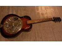 Resonator Guitar £130.00 o.n.o with case