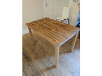4 Seater Dining Table - Ikea. 1.2x0.75m