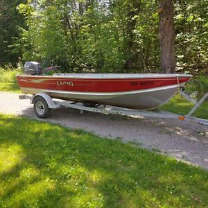 Lund SSV 16 and Yamaha 40hp outboard
